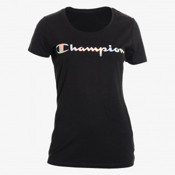 CHAMPION Bluzë LADY SHINE LOGO T-SHIRT