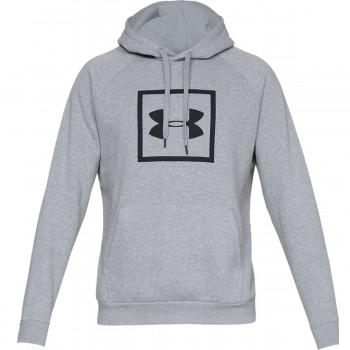 UNDER ARMOUR Bluza RIVAL FLEECE LOGO HOODY
