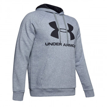 UNDER ARMOUR Bluza RIVAL FLEECE SPORTSTYLE LOGO HOODIE